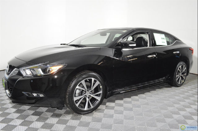 new 2017 nissan maxima 3 5 sl sedan in brooklyn park 4n18249 morrie 39 s brooklyn park nissan. Black Bedroom Furniture Sets. Home Design Ideas